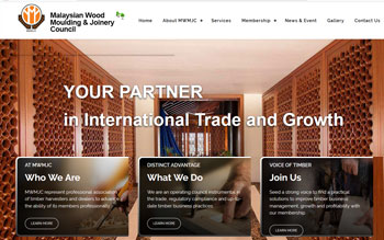 Malaysian Wood Moulding & Joinery Council  - Web Design in Malaysia