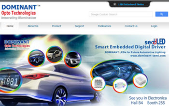 Dominant Opto Technologies Semi-Conductors - Web Design in Malaysia