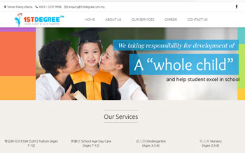 1st Degree Tuition - Web Design in Malaysia