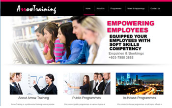 Arrow Training - Web Design in Malaysia
