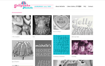 Jelly Cake Michelle - Web Design in Malaysia
