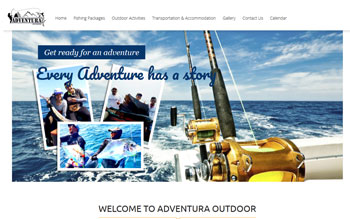 Adventura Outdoor - Web Design in Malaysia