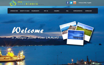 Asia Dream MM2H - Web Design in Malaysia