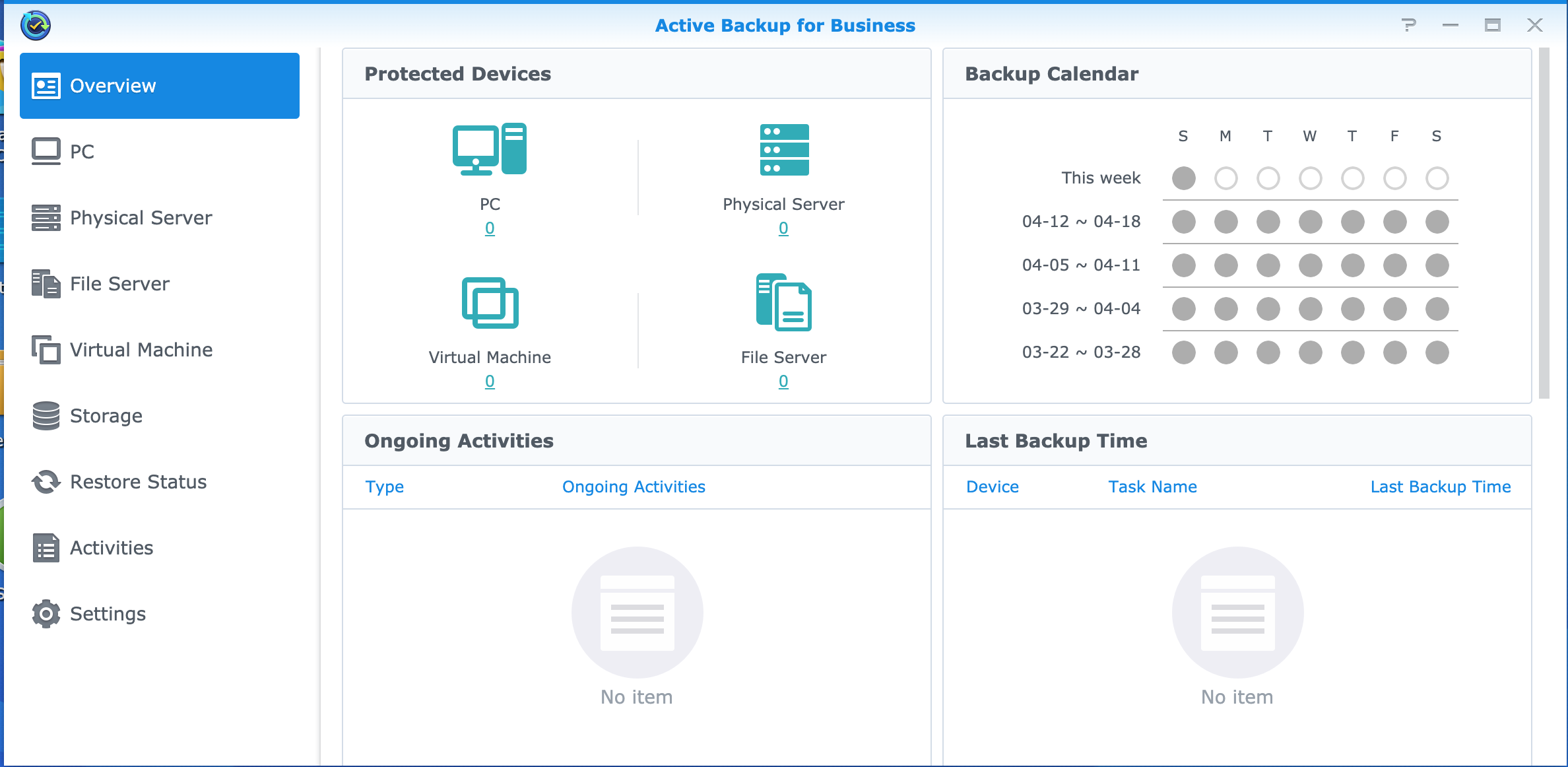 Synology - Active Backup